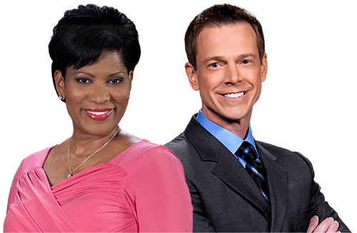 news-showcase hosts mark martin and charlene aaron