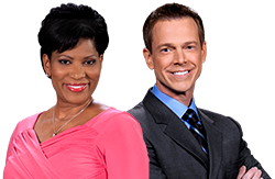 cbn-news weekend hosts mark martin and charlene aaron