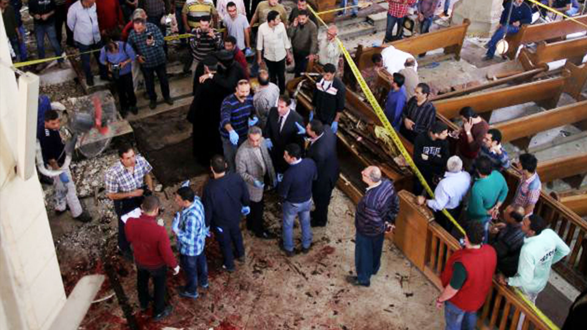 Coptic Christians pray, persevere after Egypt church bombings