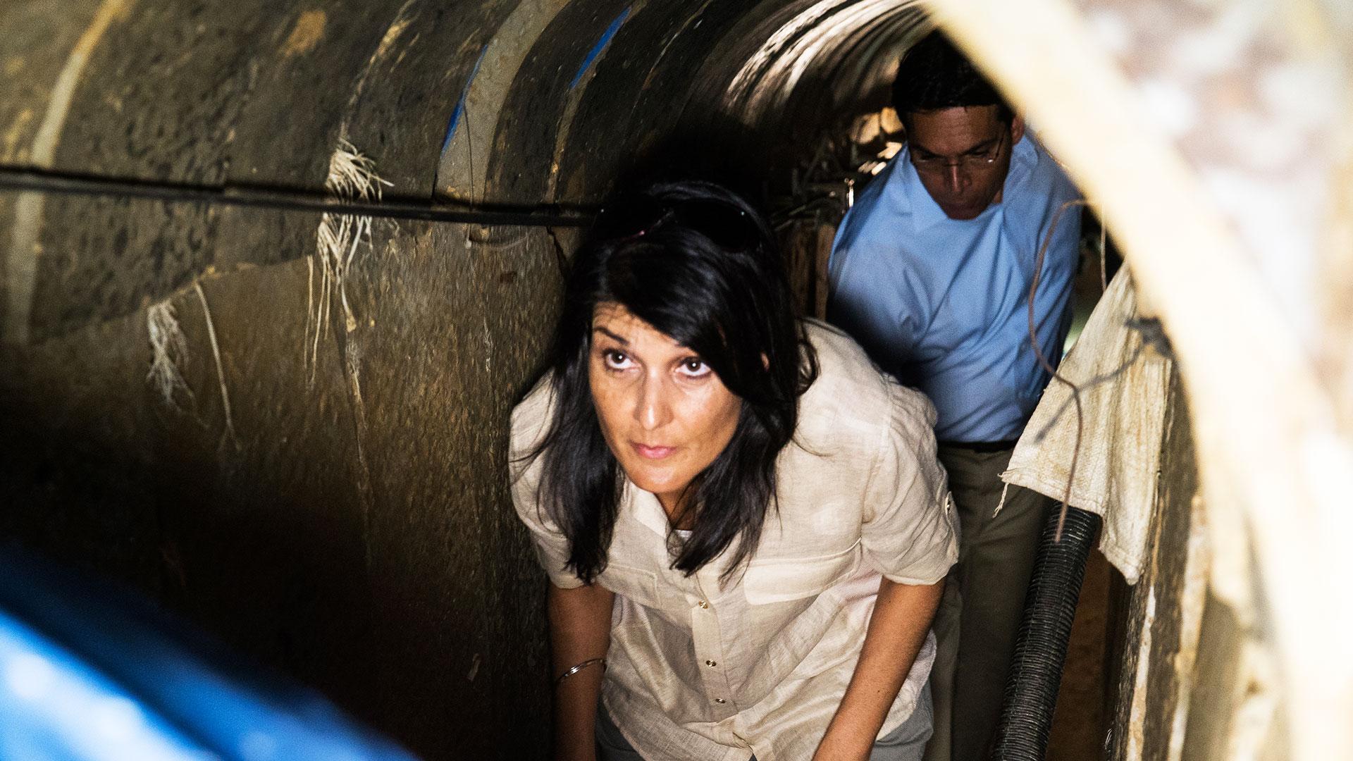 Ambassador Haley visits the Western Wall