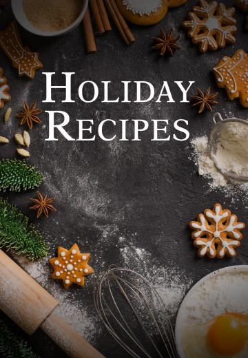 Holiday Recipes Cover Image