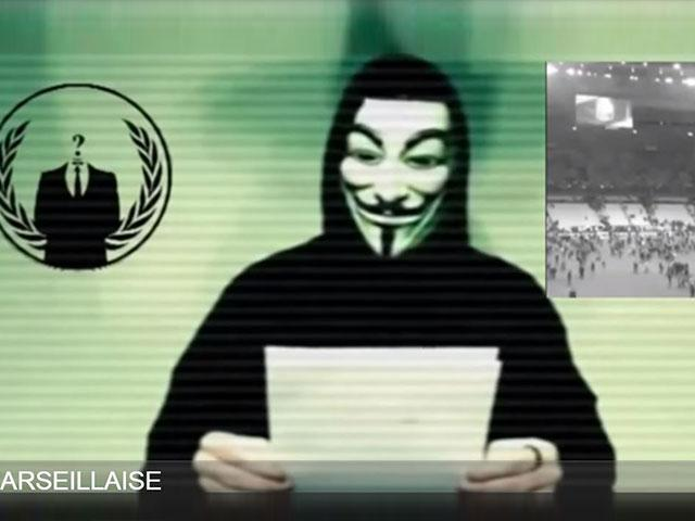 Anonymous hackers pledge cyber war on isis cbn news for Planners anonymous
