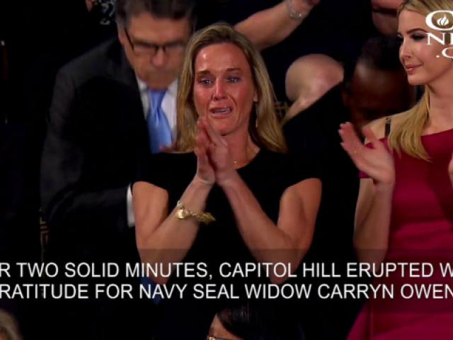 The God Story Behind the Story of Navy SEAL Widow Carryn Owens | CBN