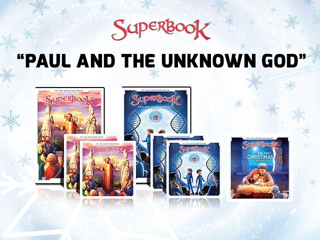 Superbook - Paul and the Unknown God