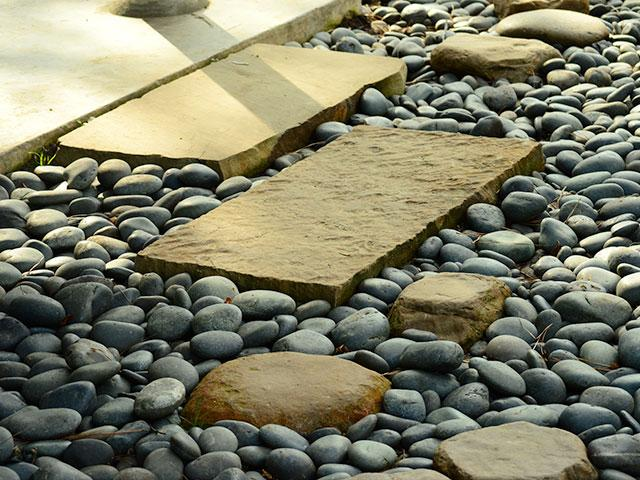 tripping over pebbles