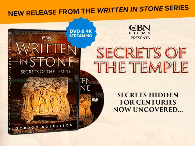 Written in Stone Secrets of the Temple