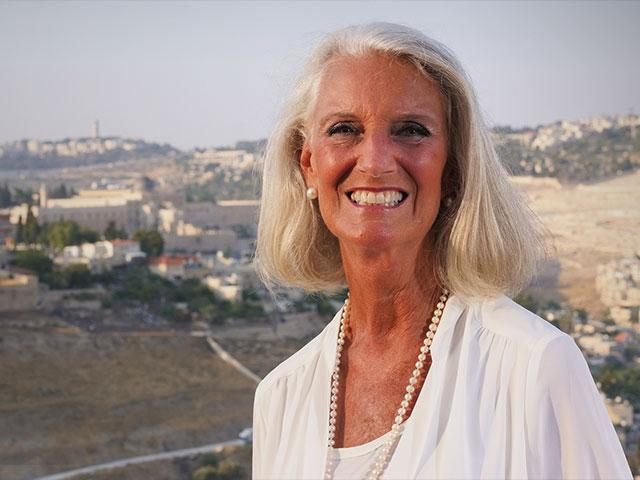 Anne Graham Lotz in Jerusalem, 2018, Photo: Jonathan Goff