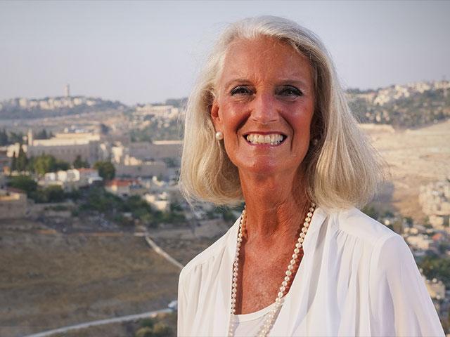 Anne Graham Lotz in Jerusalem, 2018, Photo: Jonathan Goff
