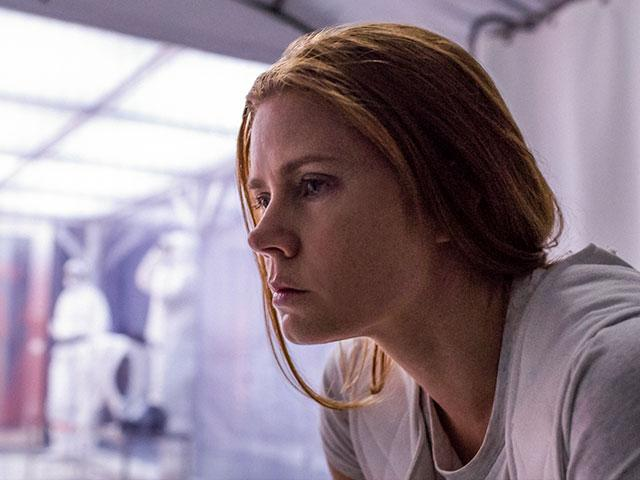 Amy Adams in Arrival, christian movie reviews