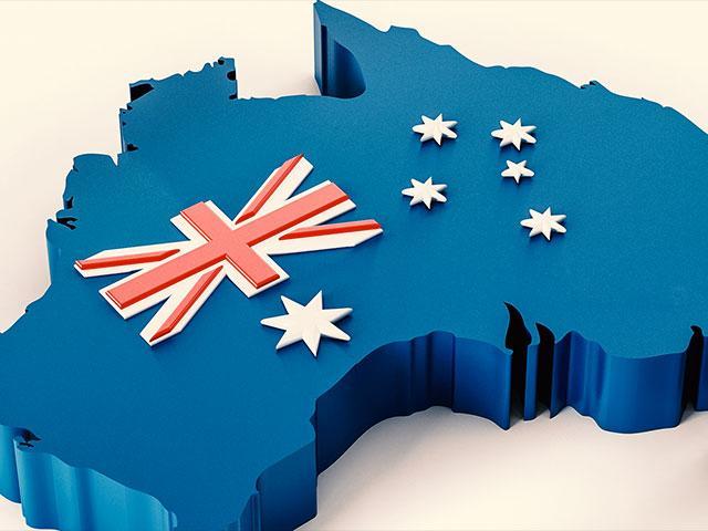 Australia Flag Country AS