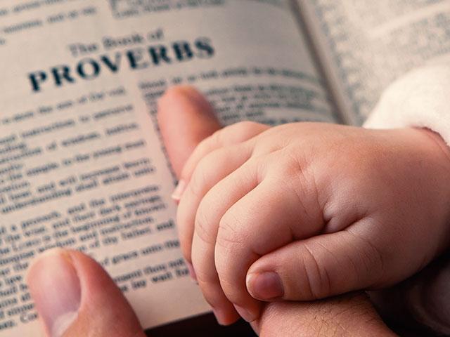 babyhandproverbsbibleas