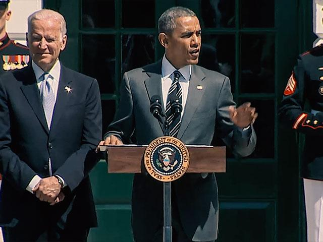 President Obama Speaking At Wounded Warrior Ceremony