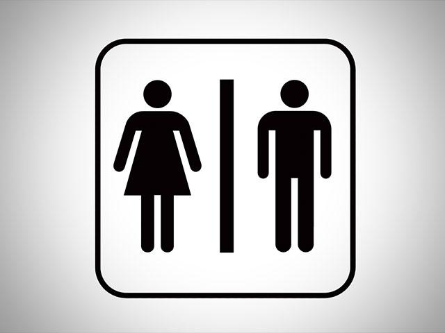 Bathroom sign 3