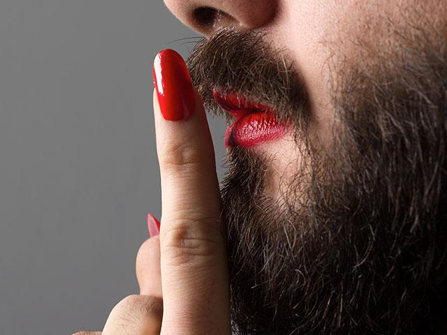 Bearded Man Lipstick AS
