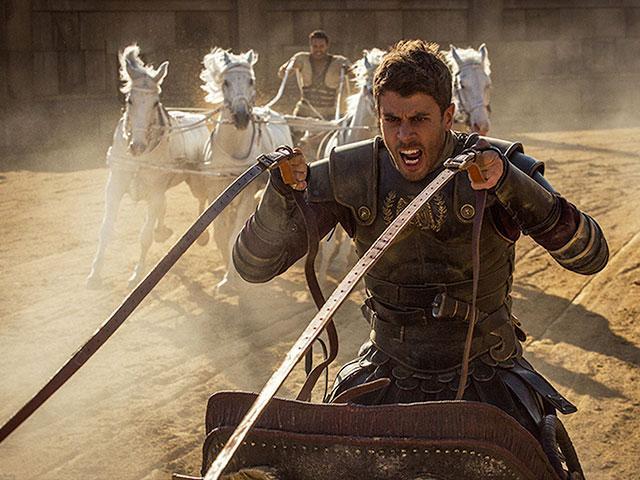 Ben-Hur movie, behind the scenes exclusive