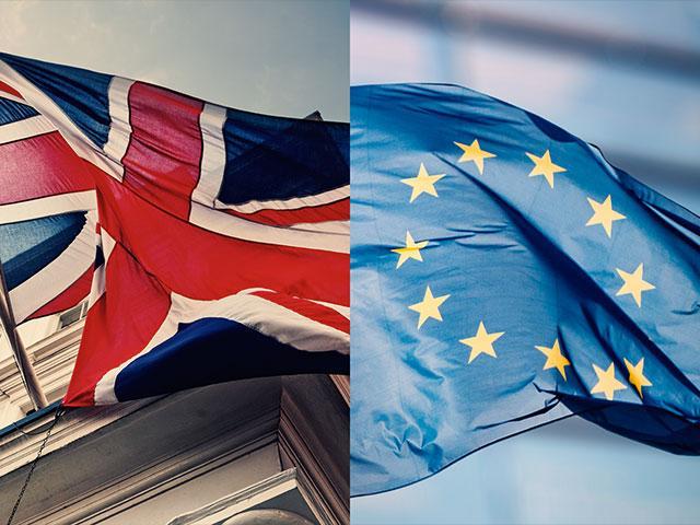 britaineuropeanunionflagas