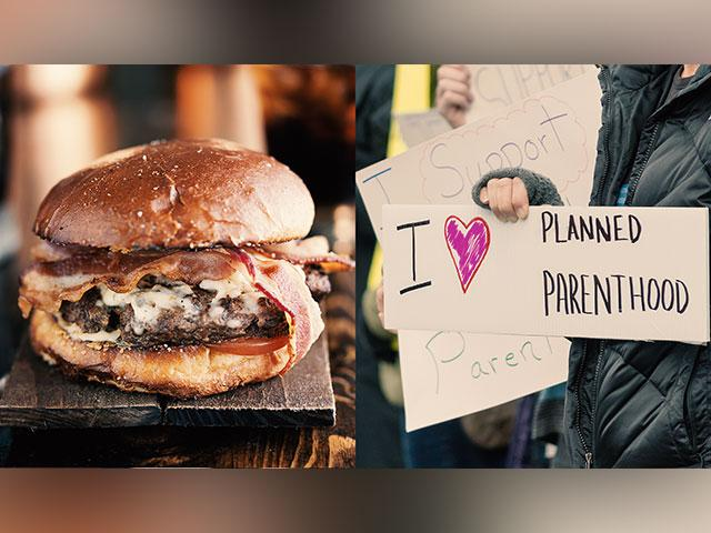 Restaurant Makes Burgers to Mock Trump and Support Abortion