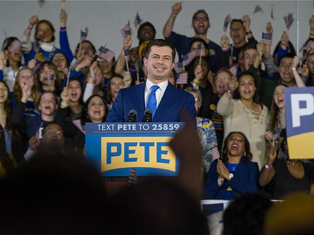 Democratic presidential candidate Pete Buttigieg (Photo: Mario Gonzalez/CBN News)