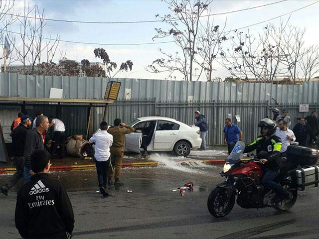 Vehicular Terror Attack in Jerusalem, Photo, CBN News archives