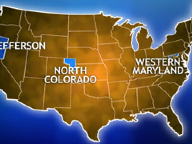 The New USA Secession Movement Gains Steam CBN News - Secession map of us