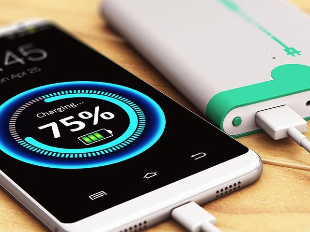 cellphone battery charging