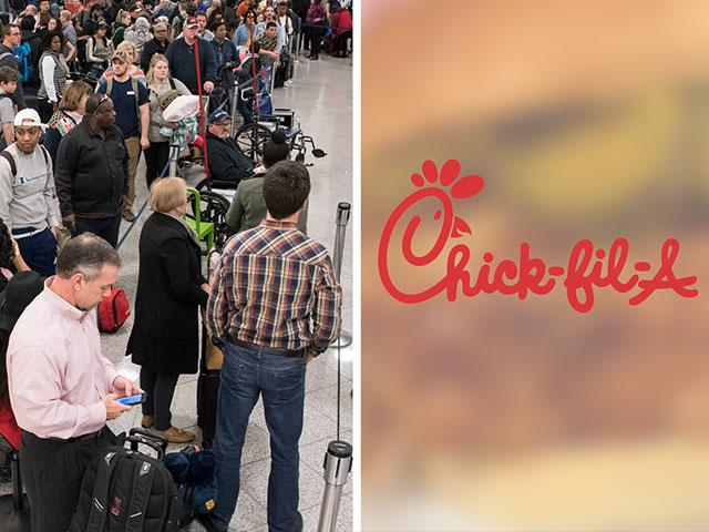 Chickfila Atlanta Airport