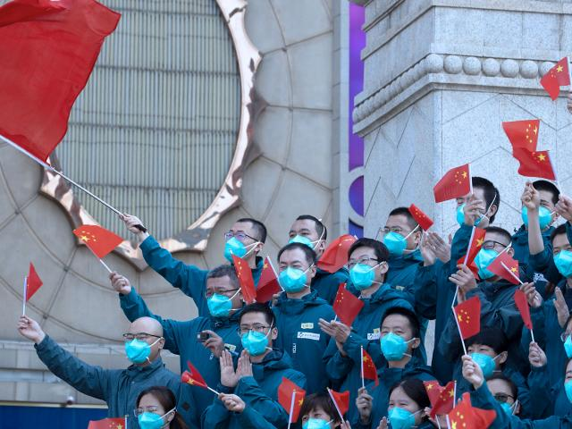 Wuhan the epicenter of China's coronavirus outbreak is coming out of more than two months of lockdown with authorities working hard to restore businesses and factories. (AP Photo/Ng Han Guan)