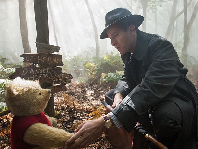 Ewan McGregor in Christopher Robin