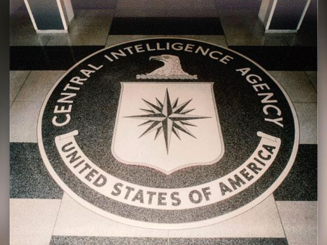 The logo of the Central Intelligence Agency in the lobby of the George Bush Center for Intelligence, CIA headquarters building, Langley, Va. (Image credit: Wikimedia Commons)