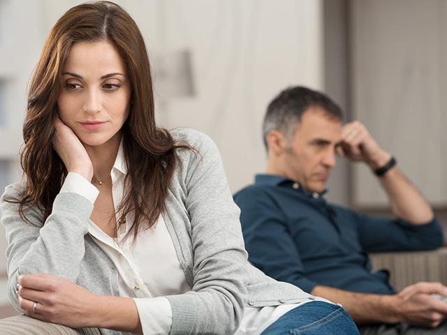 Conflicted couple dealing with Adult ADHD