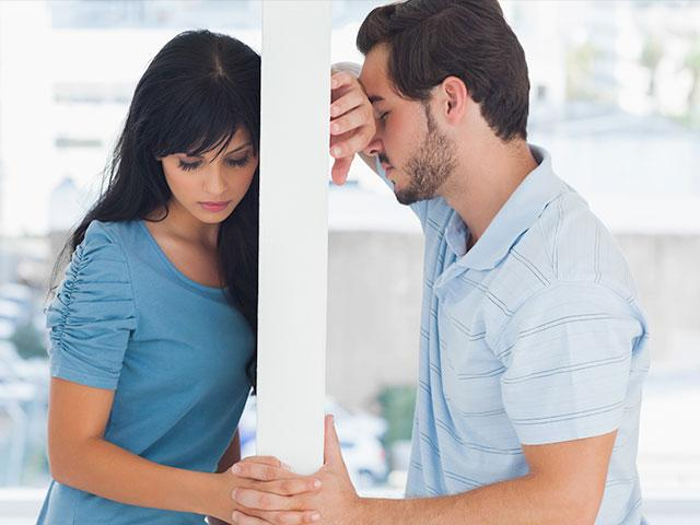 Couple not connecting with each other
