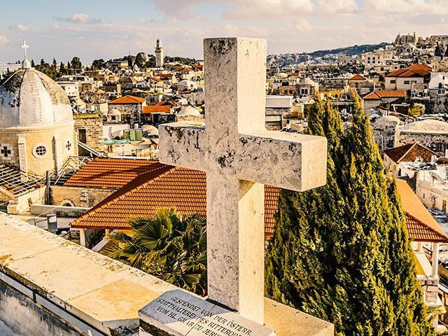 crossisraeljerusalemcityscapeas