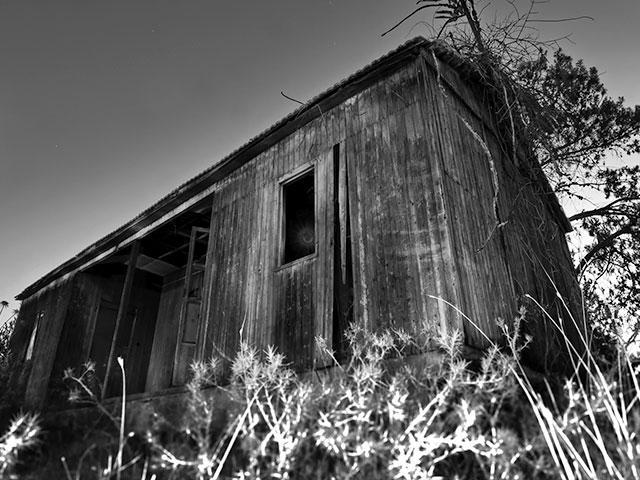 Dark shack
