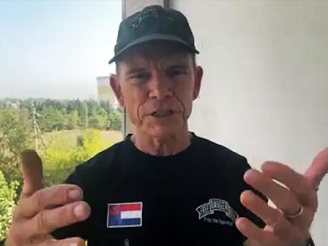 Dave Eubank, Founder of Free Burma Rangers, is working to help Afghanis. Photo: CBN News Zoom