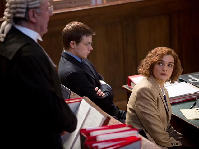 Rachel Weisz in Denial movie, Christian movie reviews