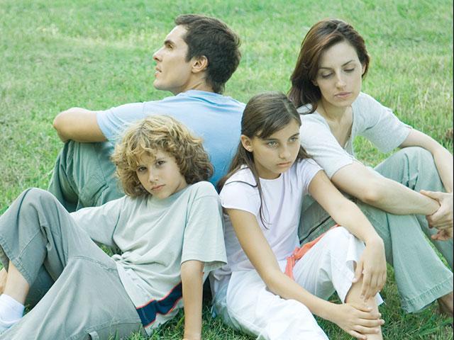 Discouraged family