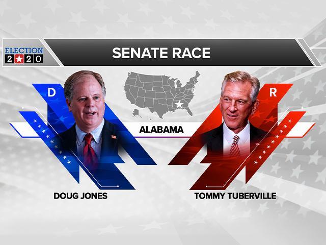 Doug Jones (D)* vs. Tommy Tuberville (R)