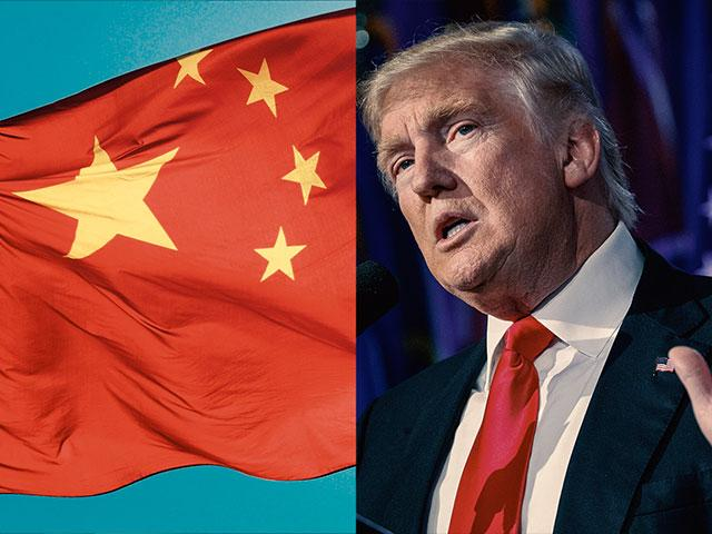 Donald Trump China Flag