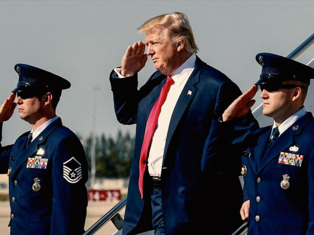 Donald Trump Salute