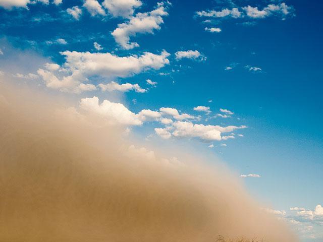 duststormas