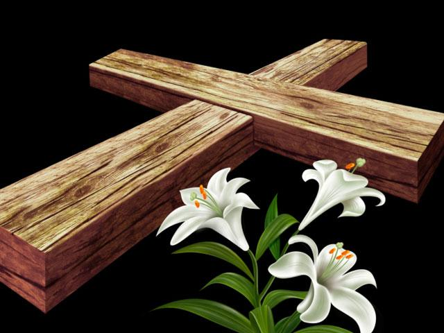 easter-cross-lilly