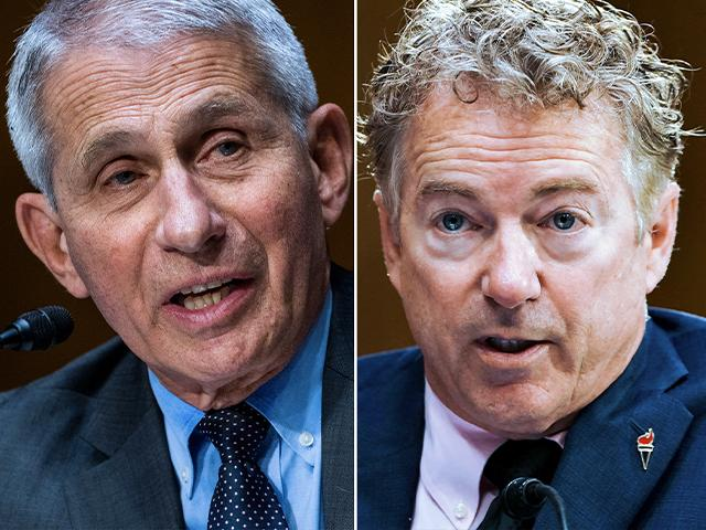 Dr. Anthony Fauci and Sen. Rand Paul, R-KY are at odds (AP Photos: Jim Lo Scalzo & Greg Nash)