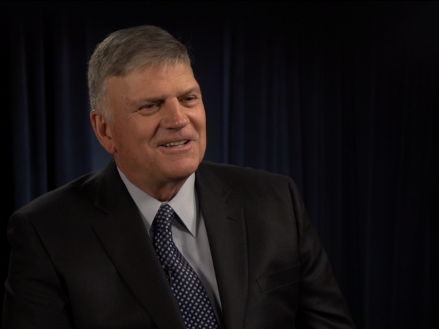 Franklin Graham talks to CBN News