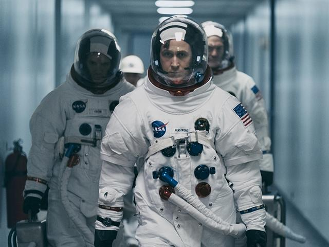 Ryan Gosling in First Man, Neil Armstrong movie