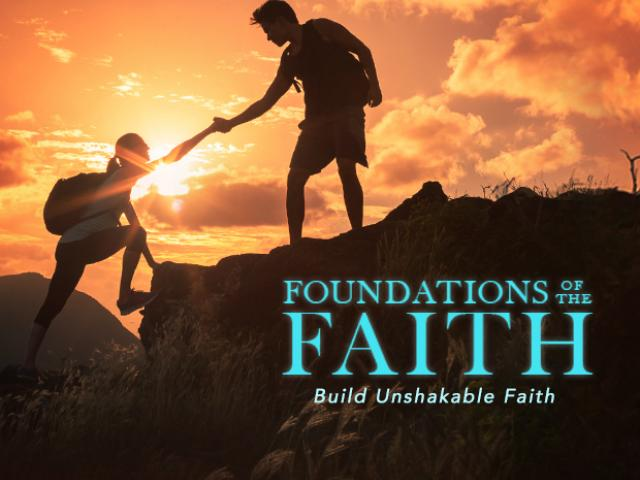 foundations of the faith email course signup