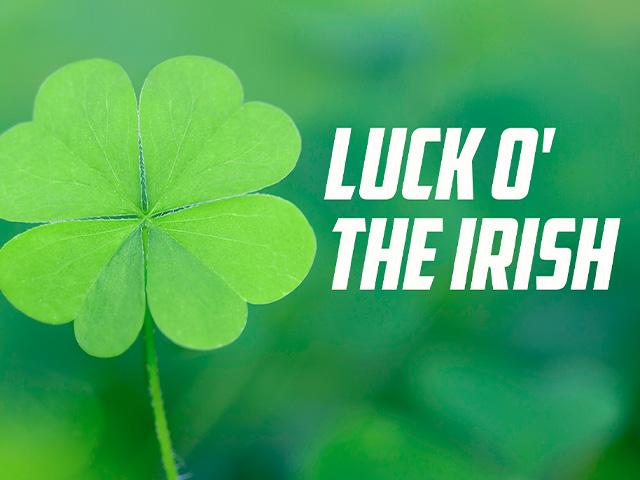 four-leaf clover luck of the irish