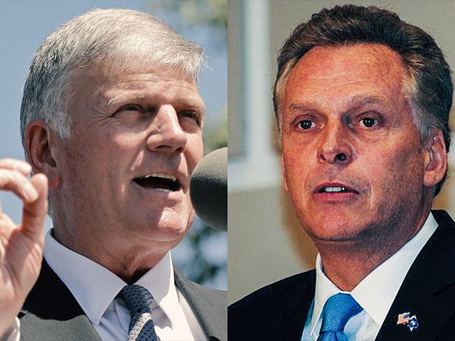 Franklin Graham Terry McAuliffe