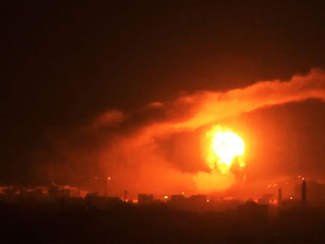 Israel Gaza Strike