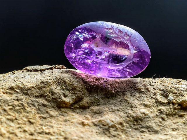 Gemstone Balm of Gilead Seal Photo Credit: Eliyahu Yanai, City of David