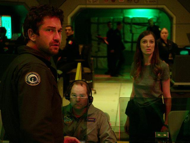 Gerard Butler in Geostorm movie, courtesy of Warner Bros.